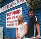Dean and Annie Krueger, Ferry Road Store